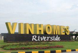 trồng cây xanh tại Vinhomes Riverside